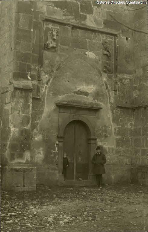 Wislica, 2. Eingang der Kirche