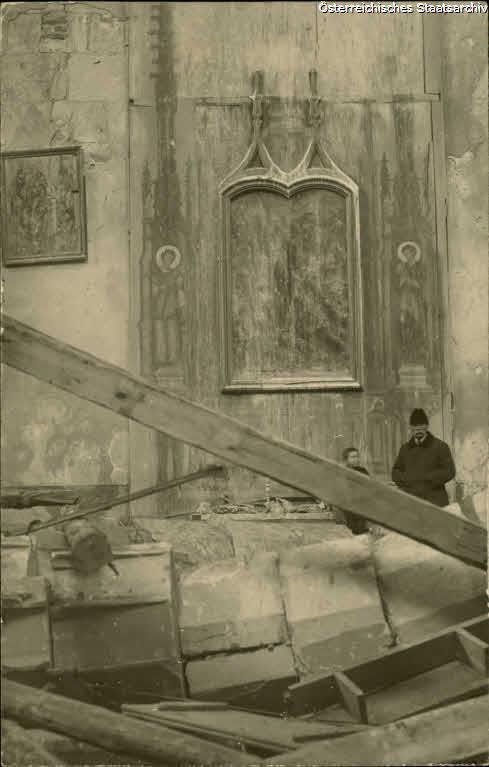 Wislica, Inneres der Kirche