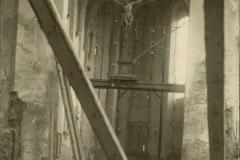 Wislica, Inneres der zerschoßenen Kirche